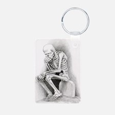 Day of the Dead Thinker Keychains