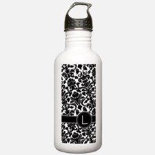Monogram Letter L Dama Water Bottle