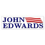 John Edwards (flag bumper sticker)