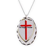 Templar Shield Large Necklace