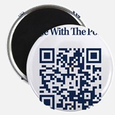 Cowbell_Posse_Ride_With_RealR_QR Magnet