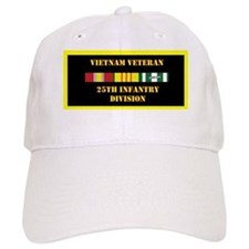 army-25th-infantry-division-vietnam-lp Baseball Cap