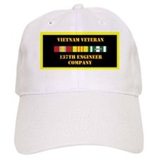 army-137th-engineer-company-vietnam-lp Baseball Cap