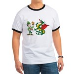 Snakes, Dragons and Leprechauns Ringer T