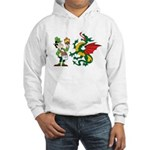 Snakes, Dragons and Leprechauns Hooded Sweatshirt