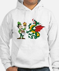 Snakes, Dragons and Leprechauns Hoodie