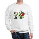 Snakes, Dragons and Leprechauns Sweatshirt