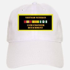 army-15th-engineer-detachment-vietnam-lp Baseball Baseball Cap