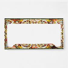 Regal_Splendor_Stained_Glass_ License Plate Holder
