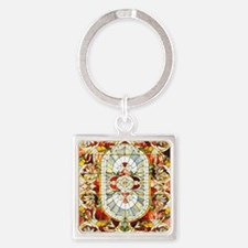 Regal_Splendor_Stained_Glass_16 20 Square Keychain