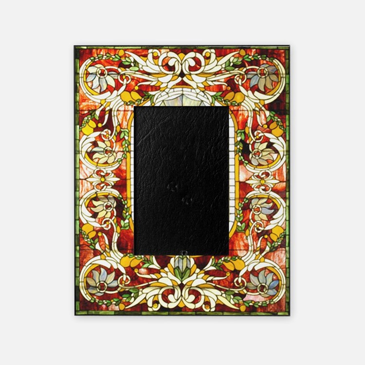 stained glass picture frames stained glass photo frames cafepress. Black Bedroom Furniture Sets. Home Design Ideas