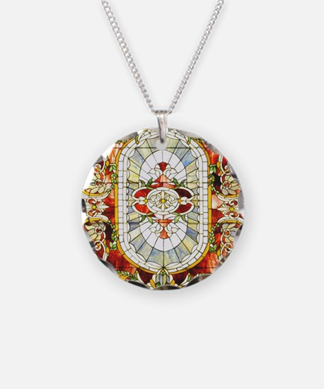 Regal_Splendor_Stained_Glass Necklace