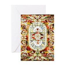 Regal_Splendor_Stained_Glass_16 20_s Greeting Card