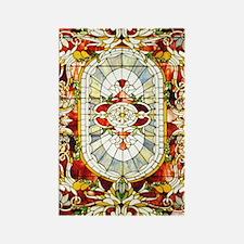 Regal_Splendor_Stained_Glass_16 2 Rectangle Magnet