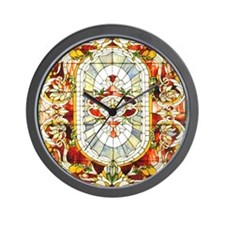 Regal_Splendor_Stained_Glass_16 20_smal Wall Clock