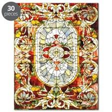 Regal_Splendor_Stained_Glass_16 20_small po Puzzle