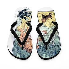 Vintage Wizard of Oz Flip Flops