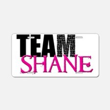 Team Shane Hat Aluminum License Plate