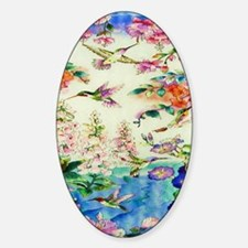HUMMINGBIRD_STAINED_GLASS_16 20 Sma Decal