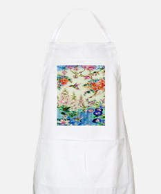 HUMMINGBIRD_STAINED_GLASS_23 35 Large Poster Apron
