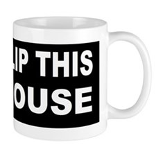 anti obama flip this house bumperd Mug