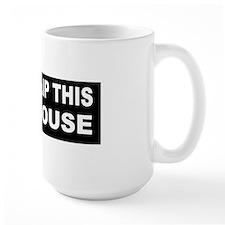 anti obama flip this house bumperd Mug