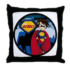 Hero Badge1 Throw Pillow