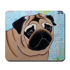 Pug Mouse Pad Mousepad