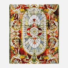 Regal_Splendor_Stained_Glass_11 17_M Throw Blanket