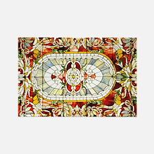 Regal_Splendor_Stained_Glass_14 1 Rectangle Magnet