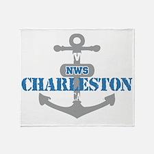 SC Charleston 2 Throw Blanket