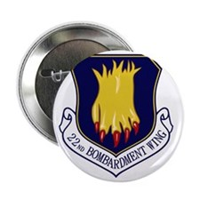 """22nd Bomb Wing 2.25"""" Button"""