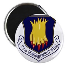 22nd Bomb Wing Magnet