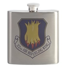 22nd Air Refueling Wing Flask