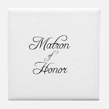 Matron Of Honor - Formal Tile Coaster