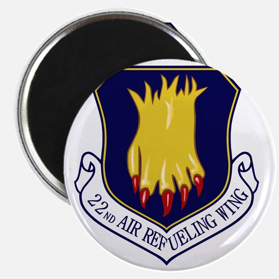 22nd Air Refueling Wing Magnet
