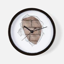 Brick Chest Wall Clock