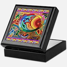 Mexican_String_Art_Image_Sun_Moon_12  Keepsake Box