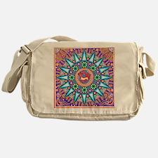 Mexican_String_Art_Gemetric_Sun_12 1 Messenger Bag