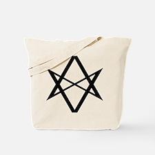 unihextransblack Tote Bag