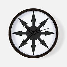chaosstar01 Wall Clock