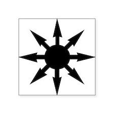 "chaosstar01 Square Sticker 3"" x 3"""