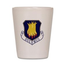 22nd Bomb Wing - Ducemus Shot Glass