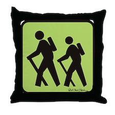 hikers Throw Pillow