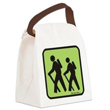 hikers Canvas Lunch Bag