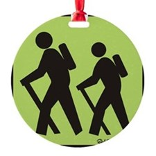 hikers Ornament
