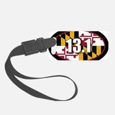 Maryland-131-OVALsticker Luggage Tag