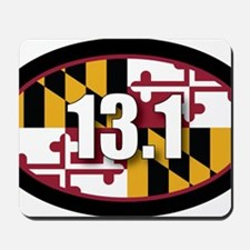 Maryland-131-OVALsticker Mousepad