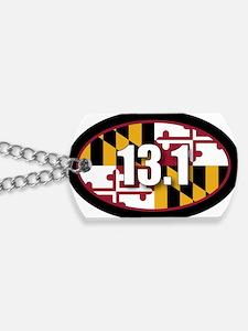 Maryland-131-OVALsticker Dog Tags