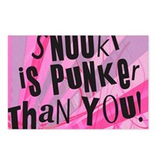 snookiepinkback Postcards (Package of 8)